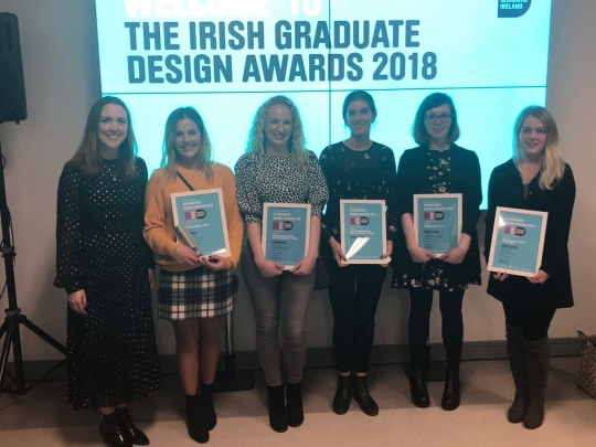 IDI Irish Graduate Design Awards 2018 – Exhibition