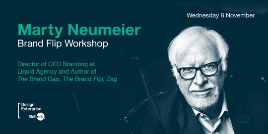 Brand Flip Workshop with Marty Neumeier