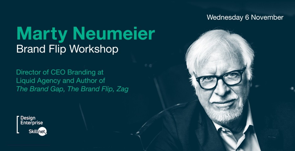 Marty Neumeier – Brand Flip Workshop